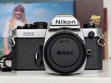 Nikon FM2 FM 2 Professionele Vintage 35 mm Spiegelreflexkamera SLR Body Analog
