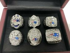 NFL Championship Ring with Box PICK YOUR TEAM NE Patriots Broncos
