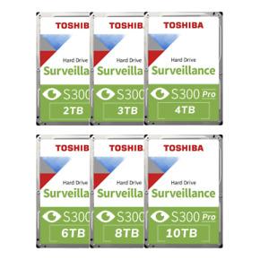 CCTV HDD SURVEILLANCE TOSHIBA S300 V300 CCTV 1TB 2TB 3TB 4TB 6TB 8TB 10TB - UK
