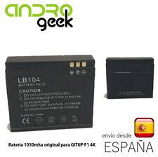 Batería 1010mAh 100% Original GITUP para cámara GITUP F1 4K.Envio ordinario!
