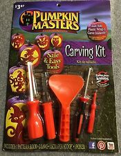 Pumpkin Masters Carving Kit, 5 Tools plus a Pattern Book with many designs