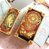 1PC Clow Card Red Tarot Cards Deck 56 Cards Set Anime Card Captor Sakura Cosplay