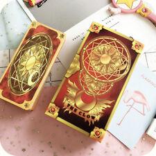 Cute Clow Card Red Tarot Cards Deck 56 Cards Set Anime Cardcaptor Sakura