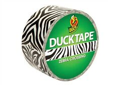 Coloured Duck Duct Gaffer Waterproof Tape ZEBRA CROSSING Repair Craft DIY Use