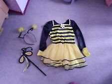 Girls Bunble Bee Costume 4 5 6 Years