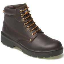 Dickies Antrim Super Safety Boots Steel Toe Cap Midsole Leather Uppers (FA23333)