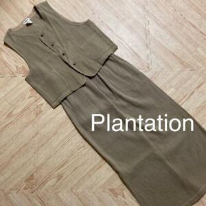 ISSEY MIYAKE Plantation Setup Ladies Size M m7283