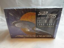 STAR TREK CCG 1994 ALPHA, SEALED BOX OF 36 BOOSTERS