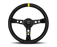 """MOMO Steering Wheel Mod 07 Black Suede 350mm for Porsche """"US Dealer"""""""