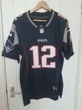 NFL Patriots Tom Brady Jersey Small