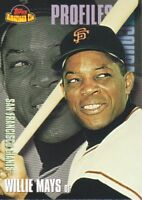 2001 Topps American Pie Baseball Profiles in Courage #PIC8 Willie Mays SF Giants