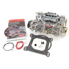 Edelbrock 9906 Performer 600cfm Vacuum Secondary Satin Carburetor, Reman 1406