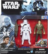 Star Wars Rogue One Snowtrooper Officer & Poe Dameron Action Figures New Sealed