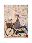 Sam Toft GoosieGoosie Taxi Art Print 12 x 16 Inches Officially Licensed