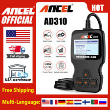 Ancel AD310 OBDII Code Reader Scanner Car Check Engine Fault Diagnostic Tool