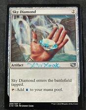 MTG Magic Sky Diamond Commander 2014 Signed by Artist Lindsey Look NM