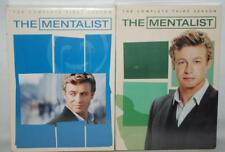 ~NEW~ LOT OF 2 THE MENTALIST COMPLETE FIRST SEASON THIRD SEASON DVD ~123~