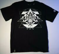 Men's Lrg Lifted Research Group Geometric Graphic T-Shirt Black Small