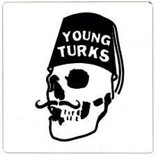 YOUNG TURKS RECORDS Ltd Ed New RARE Sticker! THE XX FKA TWIGS KAMASI WASHINGTON