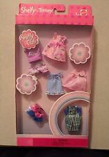 SHELLY & TOMMY & KELLY CLOTHES FASHIONS 5 OUTFITS 3 PAIRS OF SHOES New in Box