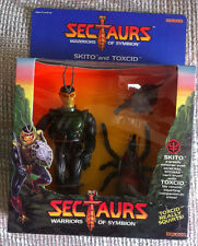 VINTAGE 1984 COLECO SECTAURS SKITO With TOXCID FIGURE MIB