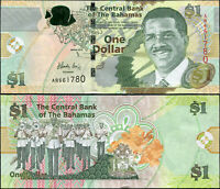 Bahamas 1 Dollar. NEUF 2015 Billet de banque Cat# P.71Aa