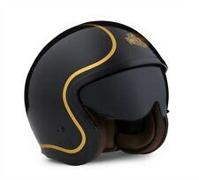 Harley Davidson Bougie Sun Shield 3/4 Black Gloss Helmet, 98174-20EX, XL