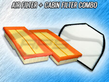 AIR FILTER CABIN FILTER COMBO FOR 2007 2008 CROSSFIRE (ENGINES W/ 2 FILTERS)