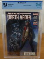 Star Wars: Darth Vader #3 (CBCS 9.8) 1st Appearance of Doctor Aphra [C]