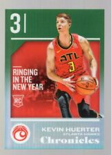 KEVIN HUERTER 2018-19 PANINI CHRONICLES GREEN PRIZM RC #03/25 JERSEY NUMBER!