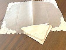 Antique Fine linens and textiles