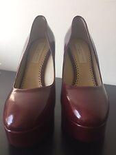 Stella McCartney Tortoiseshell Red Dana Heels Pumps