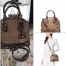 MICHAEL KORS  small dome satchel leather $278 NWT.