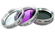 3PC HD FILTER KIT (UV+PL+FLD) FOR SONY HDR-CX300 HDR-CX350V HDR-CX350 HDR-CX300V