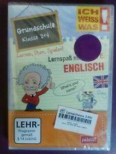 Lernsoftware, Ich weiss was! englisch Grundschule Klasse 3 und 4, OVP