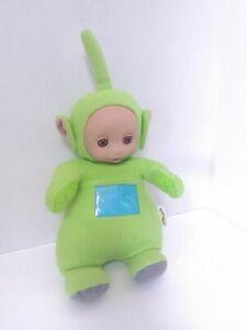Vintage Talking Teletubbies Dipsy Green 1998 Stuffed Doll Playskool 17 Hasbro