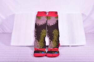 Stance Thick Wool Blend Snowboarding Socks, Brown & Green Digital Camo, S / M