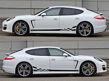 SPK051 porsche panamera 970 racing stripes sticker decal kit sports car euro low