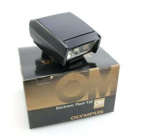 Olympus Electronic Flash T32 for Classic Olympus OM Film Cameras