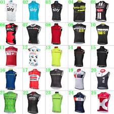New man cycling wind vest cycling gilet Cycling jerseys Vests Windproof vest