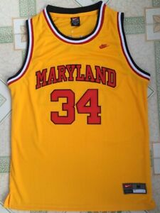 Len Bias #34 Wildcats University of Maryland Basketball Stitched Jersey | S-4XL