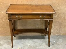 Wesley Barrell Solid Cherry Wood Writing Table / Desk