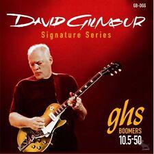 3-Pack GHS DGG David Gilmour Boomers Les Paul Electric Guitar Strings 10.5-50