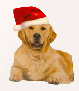 Dog Santa Hat Christmas Pet Apparel w/ elastic chin strap Outward Hound