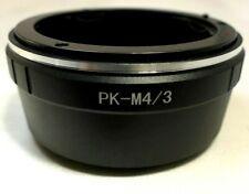 Pentax K PK KA A Lens mount adapter to M4/3 GH3 GH5 Panasonic E-PL2 OM-D cameras