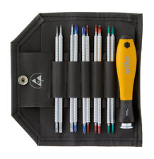 Wiha 2691T11ESD System 4 Reversible Blade Screwdriver Set Slotted/Phillips/Hex