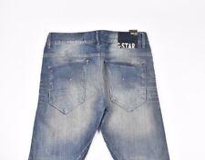 G-star Arc 3D Conique Ample Femme Coton Bleu Jeans Taille 27/32