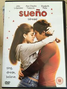 Sueno DVD 2005 Latino Hispanic Romantic Drama w/ John Leguizamo + Elizabeth Pena