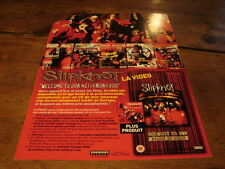 SLIPKNOT WELCOME TO OUR!!!!!!!!!!!RARE FRENCH PRESS/KIT
