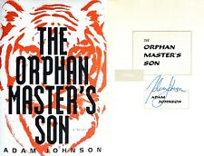 Adam Johnson~SIGNED~The Orphan Master's Son~1st Ed + Photos! Pulitzer Winner